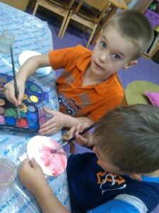 deca crtaju, privatni vrtić zmaj novi sad